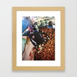 Birthday Dilla Framed Art Print