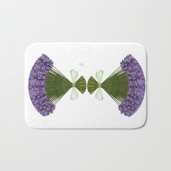 Bunch of lavender Bath Mat