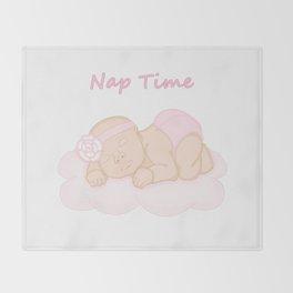 Nap Time Throw Blanket
