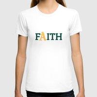 oakland T-shirts featuring Oakland A's Faith by Good Sense