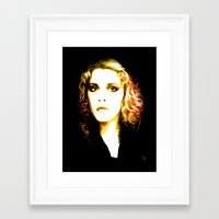 stevie nicks Framed Art Prints featuring Stevie Nicks - Dreams - Pop Art by William Cuccio aka WCSmack