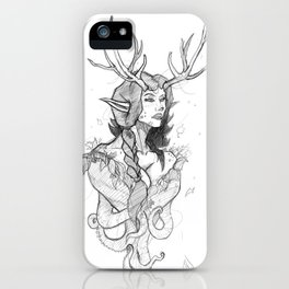 gia sketch iPhone Case