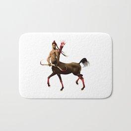 Centaur with bow and arrows. Bath Mat
