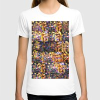 lindsay lohan T-shirts featuring Lindsay-Alice-Court-Glitch by Peter Marsh