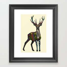 deer vanilla Framed Art Print