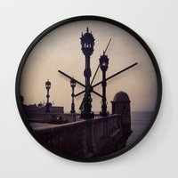 guardians Wall Clocks featuring Guardians by Out of Line