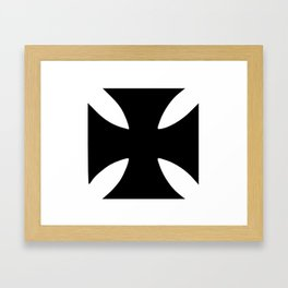 German Cross 1 Framed Art Print
