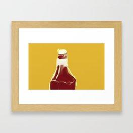 'sup? Framed Art Print