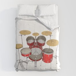 Red Drum Kit Comforters