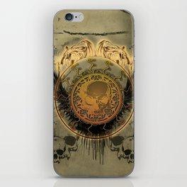 The skulls iPhone Skin