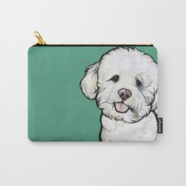 Gracie the Bichon Carry-All Pouch