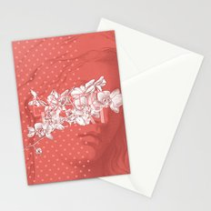Exotic heart Stationery Cards