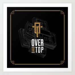 Monograms - Over the Top Art Print