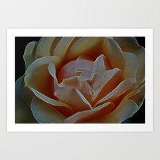 peaches and dreams Art Print
