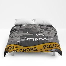 I Heart Zombies Comforters