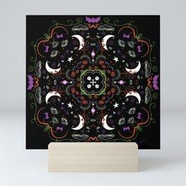 Halloween Mandala Mini Art Print