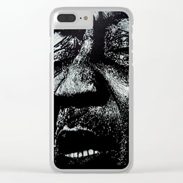 Muddy Waters Clear iPhone Case