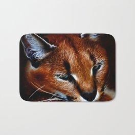Karakul wildcat Bath Mat