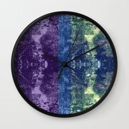 Born on the Bayou Colorblock Wall Clock