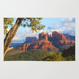 Cathedral Rocks of Sedona Rug