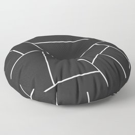 Modern Geometric 56 Floor Pillow