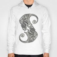 chameleon Hoodies featuring Chameleon by gina shord