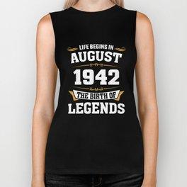 August 1942 76 the birth of Legends Biker Tank
