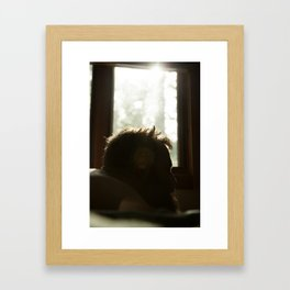 Mornings in Bed Framed Art Print