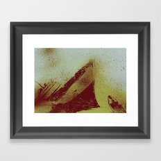 All The Ships Had Holes Framed Art Print
