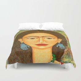 My homage to Frida Kahlo Duvet Cover