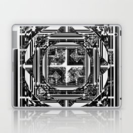 looking for something (black and white) Laptop & iPad Skin