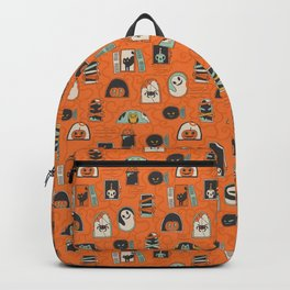 Halloween windows Backpack