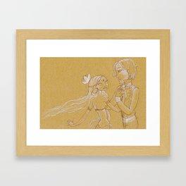 Karmic Love Framed Art Print