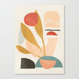 Abstract Shapes 20 Canvas Print