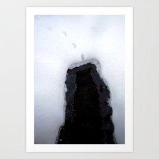 Snow 8 Art Print