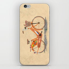 Love Holland, Love Bike iPhone Skin