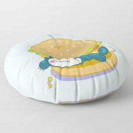 Snorlax Burger Floor Pillow