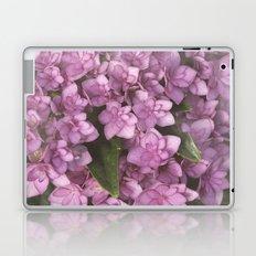 Double Bloom Hydrangea Laptop & iPad Skin