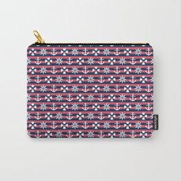 Sailor Stripes Ahoy Carry-All Pouch