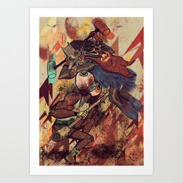 Pancanacerta Art Print