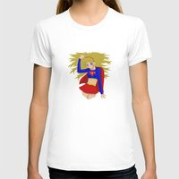 supergirl T-shirts featuring Supergirl by revolver74