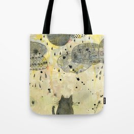 Watching the Clouds Tote Bag