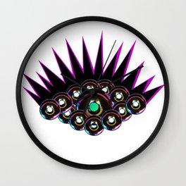 Donut Eyes Wall Clock