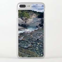 Elbow Falls 3 Clear iPhone Case