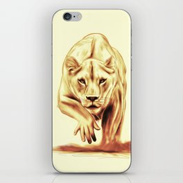 Hunting gently iPhone Skin