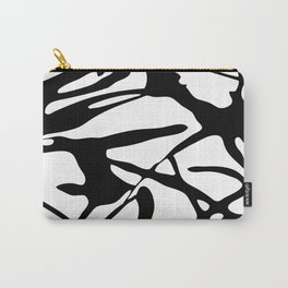 Black and White Abstract Painting II Carry-All Pouch