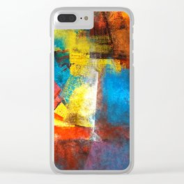 Infinity abstract painting | Abstract Painting Clear iPhone Case