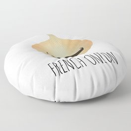 French Onion Floor Pillow