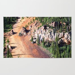 Gold Mine Tailings Slide Rug