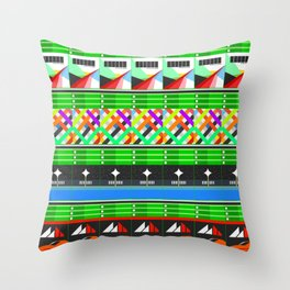 NEX GEN GREEN Throw Pillow